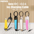 Remax Easy RC-024 ios charging cable 68MM Quick Charging For iPhone 5/se 6/6Plus 7/7plus ios 10 for iPad  Portable USB cable