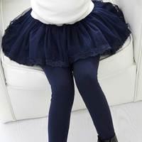 Joyhopy春秋女の子レギンス女の子のスカート