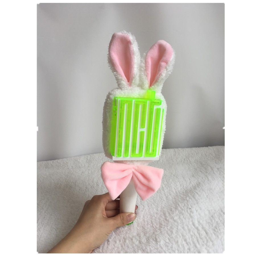 Kpop NCT Taeyong Yuta Cute Lightstick Headband NCTzen Gift Light Stick Plush Head Cover