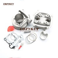 180cc EGR Cylinder Head Assembly & 61mm Big Bore Cylinder COMBO KIT for SCOOTERS 150cc GY6 157QMJ MOTOR