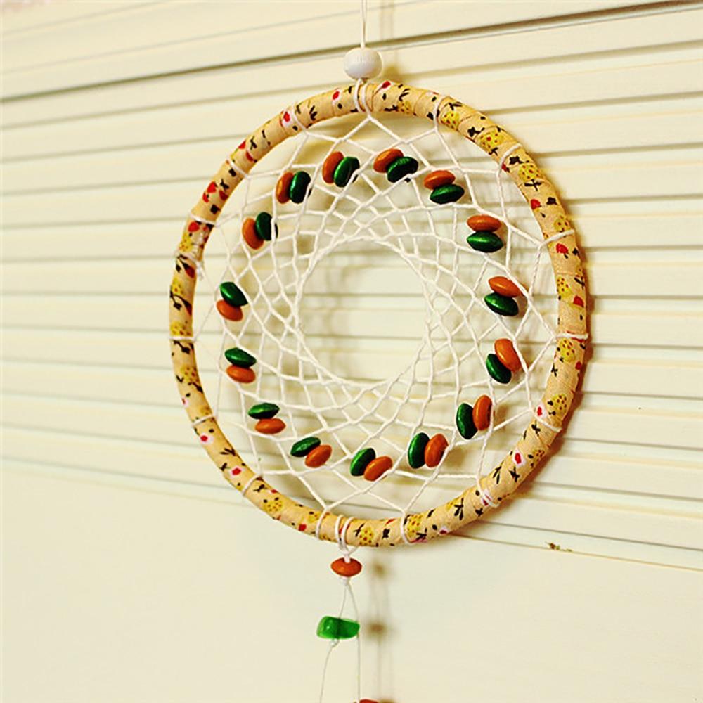 Originality Beautiful Lace Beads Dream Catcher Circular Net With ...