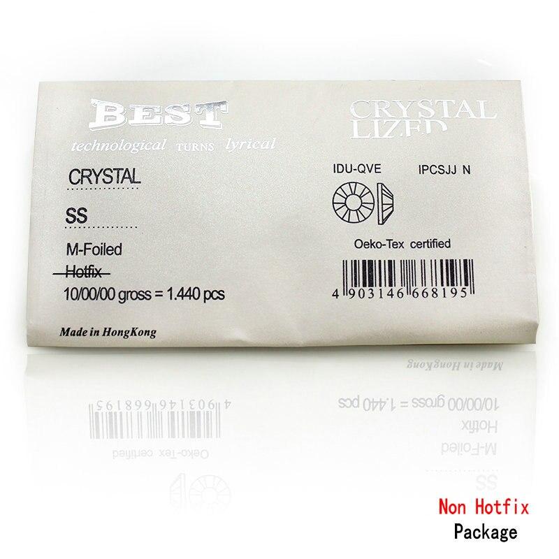 QIAO SS3-SS40 (1.3mm-8.4mm) AAA rhinestone crystal AB clear Niet - Kunsten, ambachten en naaien - Foto 6