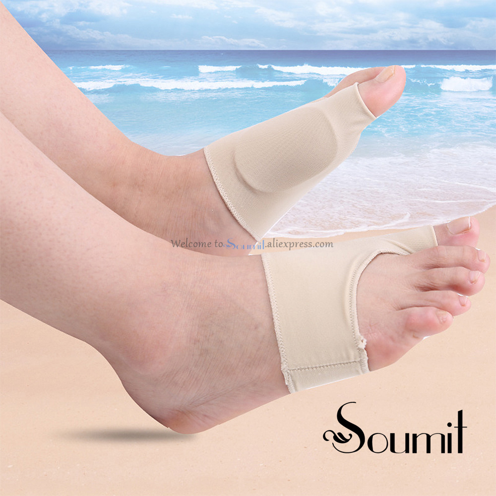 Soumit Unisex Gel Flatfoot Massage Insole Foot Pain Relieve Pad Orthotics Overlapping Big Toes Correction Sock Foot Care Cushion hallux valgus orthotics big toe corrector foot pain relief feet guard care bone corretivo bunion night and day used splint