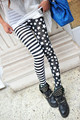 Новые Хорошие эластичные брюки Красочный Молоко шелка печати леггинсы Женщин лодыжки длина брюки Корабль Падения