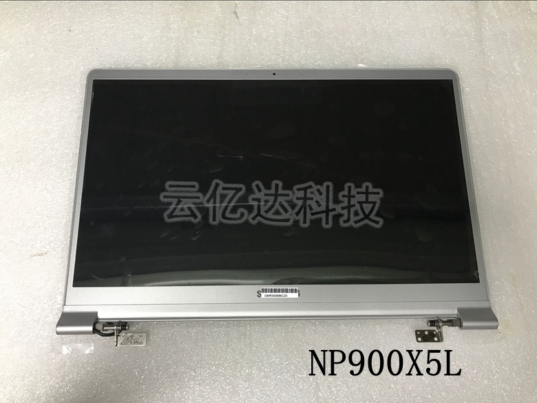 """New White 15/"""" Samsung NoteBook 9 NP900X5N 1920x1080 LCD Display Panel Assembly"""