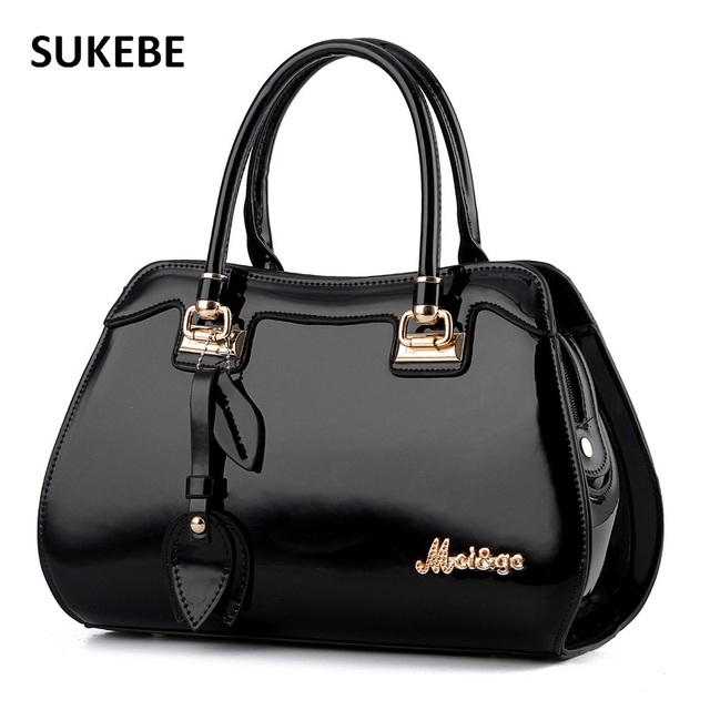 New Women Bags Famous Designer Brand Bags Women Patent Leather Handbags Luxury Women Messenger Bags Bolsa Tote Bags Feminina