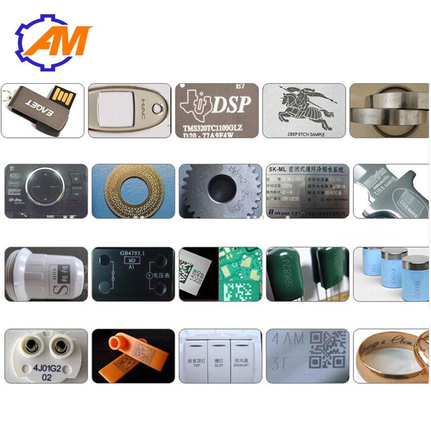 LASER 20 w 30 w 50 w fibra laser di marcatura macchina per incisione per la collana anello dei monili - 4