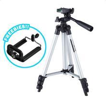 102 cm 40in Esnek Alüminyum mini Taşınabilir kamera tripodu Standı Hafif ile Taşıma Çantası ve Cep Telefonu Braketi