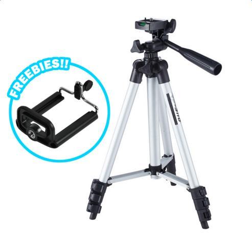 Soporte de trípode para cámara portátil de aluminio flexible de - Cámara y foto
