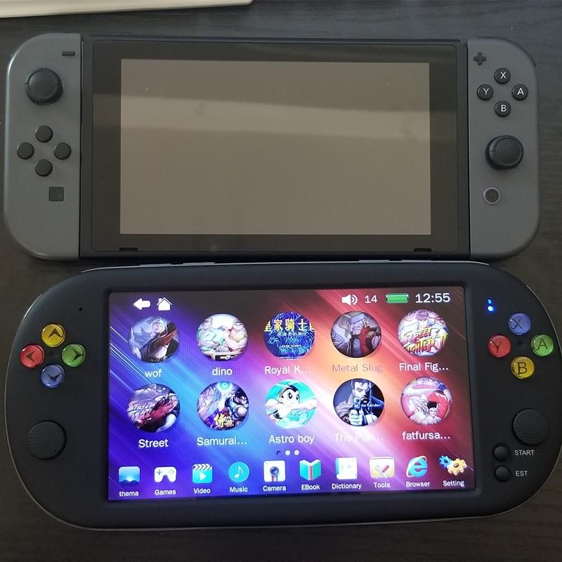 Nueva consola de juegos de 7 pulgadas 5