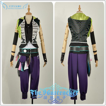 B-project Kaneshiro Goushi Cosplay Costume Stage Performance Clothes , Perfect Custom for You !