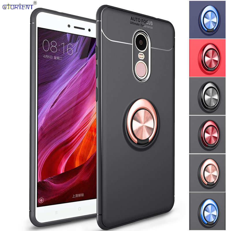 Silicone Case for <font><b>Xiaomi</b></font> <font><b>Redmi</b></font> <font><b>Note</b></font> <font><b>4X</b></font> <font><b>3/32</b></font> Low Version Car Magnetic Holder Cover for Xiomi <font><b>Redmi</b></font> <font><b>Note</b></font> 4 Global version Cases image