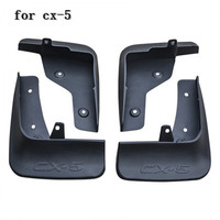 ABS plastic Mud Flaps Splash Guard fender for Mazda CX 5 cx5 2017 2018 Second generation Car styling