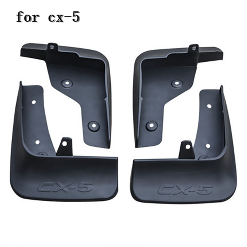 ABS plastic Mud Flaps Splash Guard fender for Mazda CX-5 cx5 2017 2018 Second generation Car styling