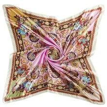 Горячая распродажа новый 2014 высокого Quqilty весна осень Desigual шарф женщин зима площадь хиджаб печать шарфы новое 90 x 90 см
