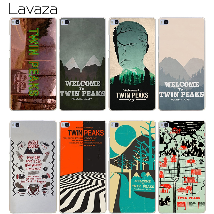 Lavaza Welcome To Twin Peaks Case for Huawei Honor 6a 7x 8 9 10 P8 P9 P10 P20 P Smart Ma ...