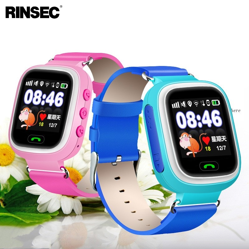 Q90 GPS Kid Smart Watch font b Baby b font Anti lost Watch with Wifi Touch