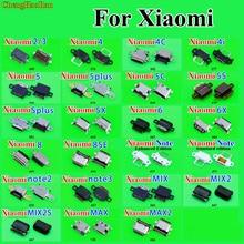 ChengHaoRan Chi Tiết Sửa Chữa Sạc Micro USB Ổ Cắm Xiaomi 2 3 4 4C 4i 5 Plus 5C 5 S Plus 5X6 6X8 SE Note 2/3 Pha 2 2 S Max 2