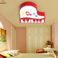 Nordic Piano LED ceiling light living room lighting simple luminaire bedroom pink child  Macaron lamp ceiling luminaria|Ceiling Lights| |  -