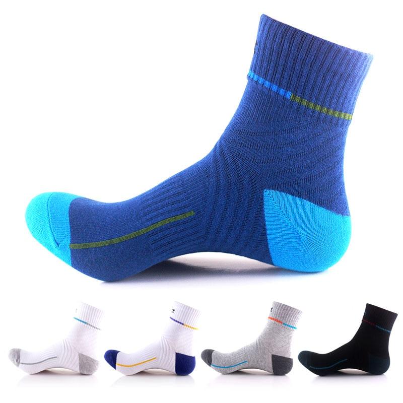 Fashion Thick Cotton Professional COOLMAX Mens Socks High Quality Man Sock Thermal Towel Bottom Foot Unisex Socks 5Color