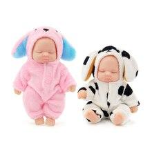 kawaii lifelike baby dolls plush Bjd bebe doll reborn toys Pendant for children girls Christmas gift pvc kids baby born toy