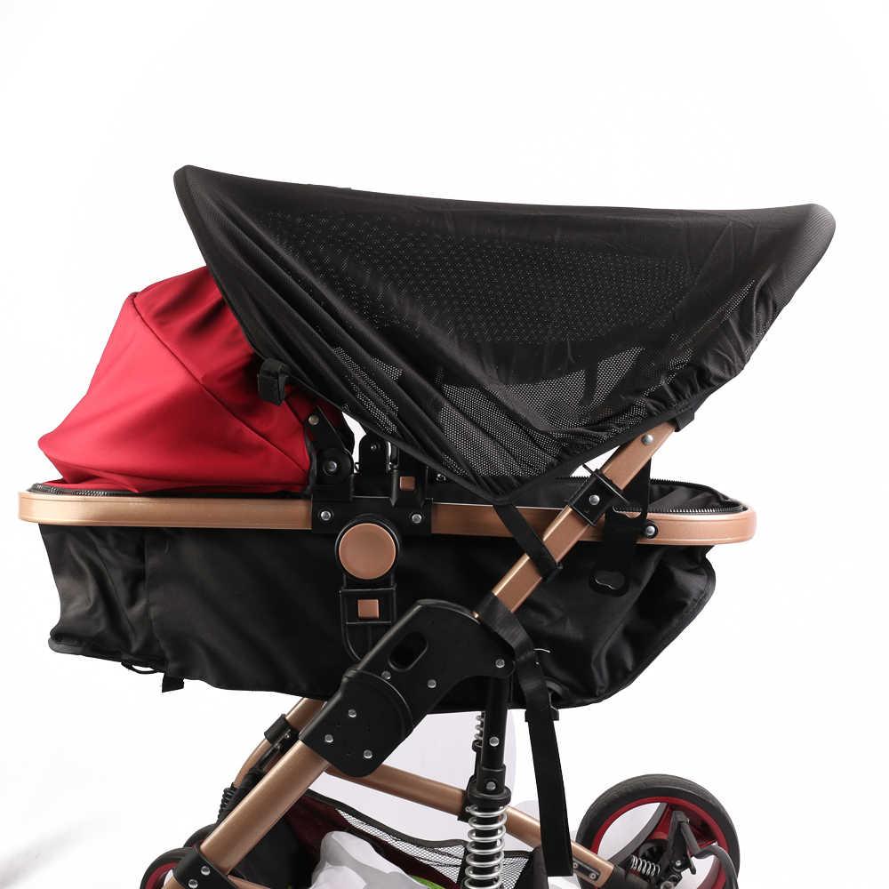 Детский тент чехол для коляски Универсальный Детский тент (блоки 99% УФ), москитная сетка для коляски, детская коляска противомоскитная сетка