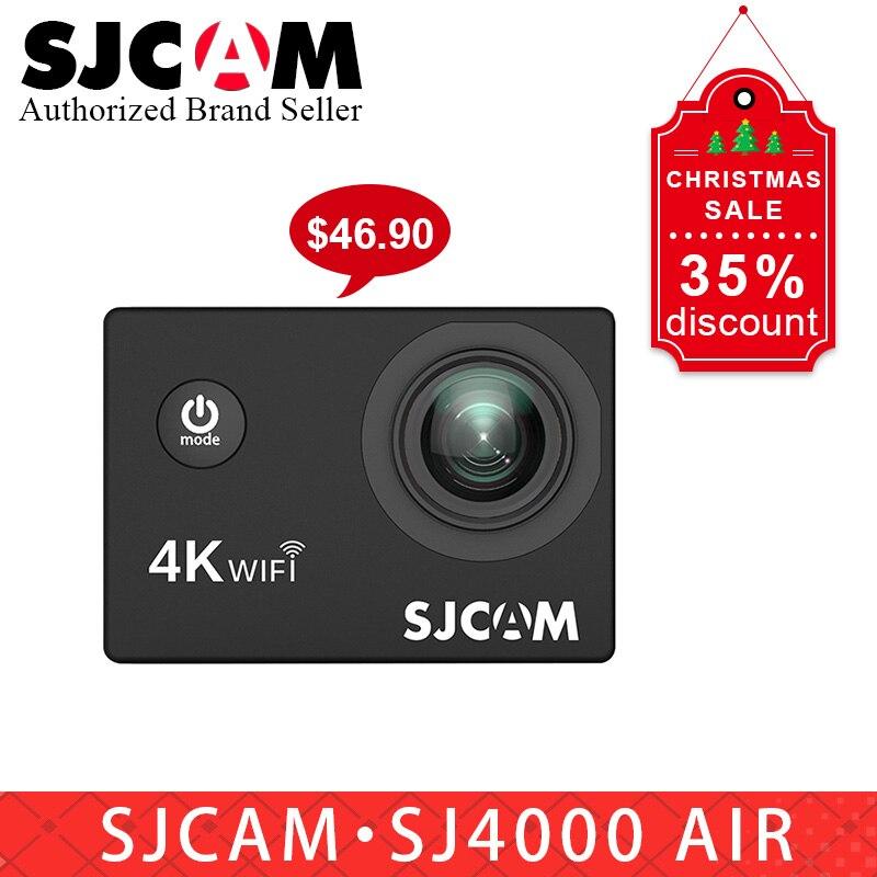 Nouveau cadeau SJCAM SJ4000 AIR 4 k WIFI caméra d'action Allwinner étanche Sport DV 2.0