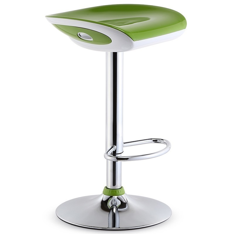 все цены на  Hairdressing salon lift stool Barbecue bar chair Massage Therapist Stools retail green color free shipping furniture wholesale  в интернете