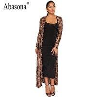 Abasona Elegant Long Dresses Evening Party Wear Sexy Mesh Sequin Dress Spring Vintage Style Long Sleeve