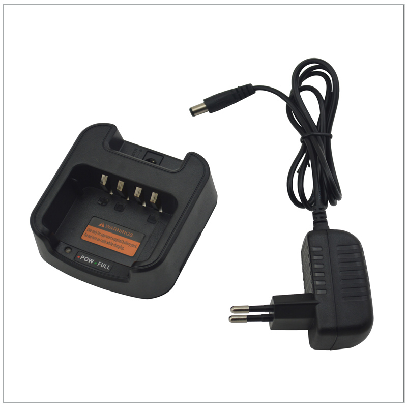 Desktop Charger With AC Adapter For HIROYASU IM-1024 10W Portable Two-way Radio