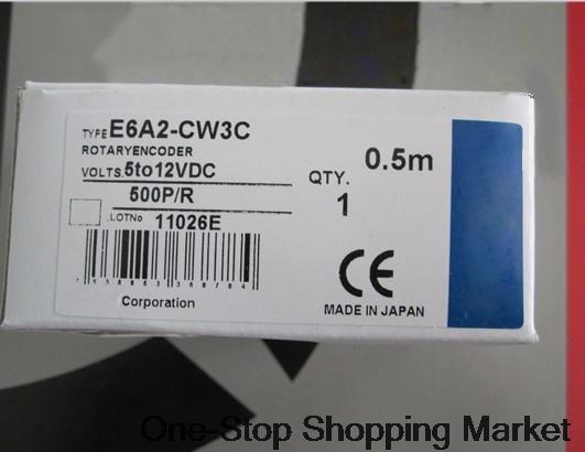 Encoder E6A2-CW3C 500P R New Original e6a2 cs5c 50p r rotary encoder new e6a2cs5c 50p r 50pr compact size e6a2 cs5c