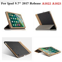 Luxury Cover For Funda New IPad 2017 Version 9 7 Inch A1822 A1823 Business PU Leather