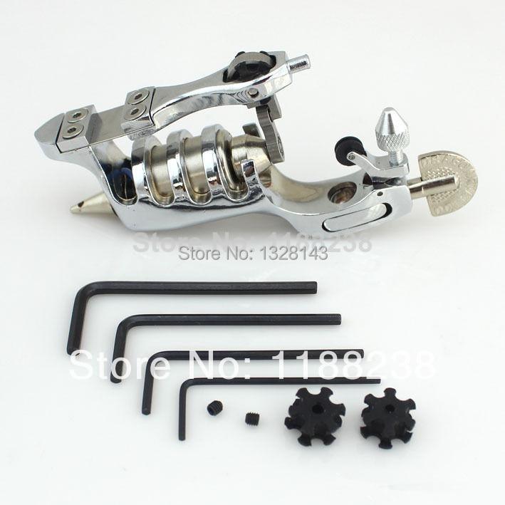 Primus Sunskin Rotary Tattoo Machine gun Multifunction Liner Shader Motor Tattoo gun Silver alloy tattoo needles