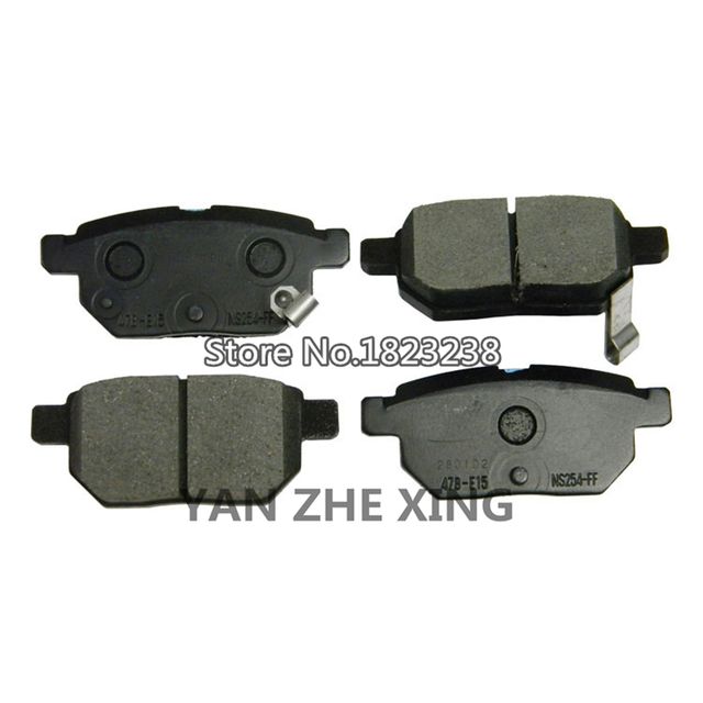 Toyota Brake Pads >> Rear Brake Pads Oem 04466 12150 For Toyota Corolla 2012 On For Scion