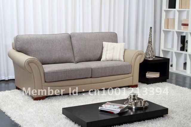 Muebles modernos sala/salón sofá de tela/3 plazas/2 plazas sofá en ...