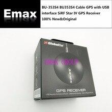BU 353S4 BU353S4 כבל GPS עם USB ממשק Sirf Star IV GPS מקלט 100% חדש מקורי Guniune משלוח ספינה JINYUSHI המניה