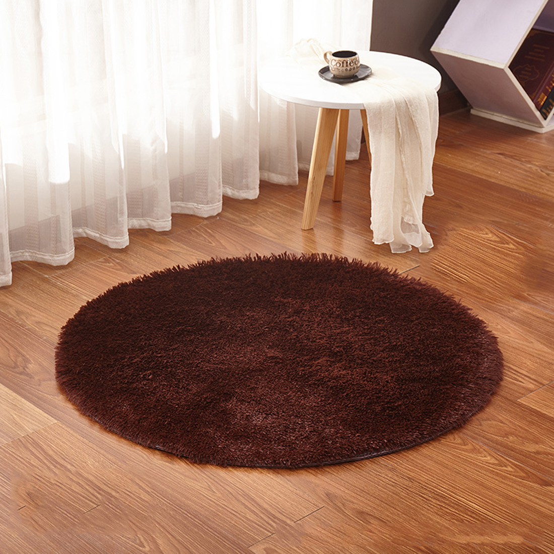 Aliexpress Com Buy Fluffy Round Rug Carpet For Living