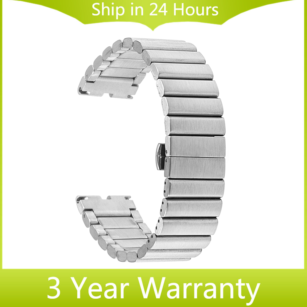 22mm Stainless Steel Watch Band for Motorola Moto 360 1 1st Gen 2014 Strap Bracelet with