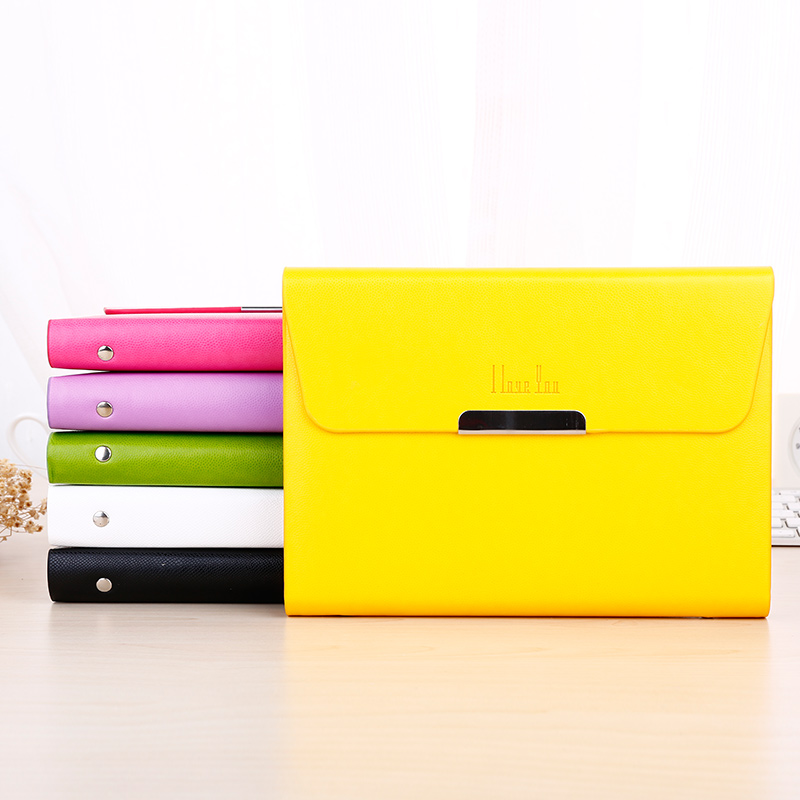 A5 Business Notebook Agenda Organizer Planner Diary Candy-colored Handbag Shape Notebook Gifts Stationery Office School Supplies недорого