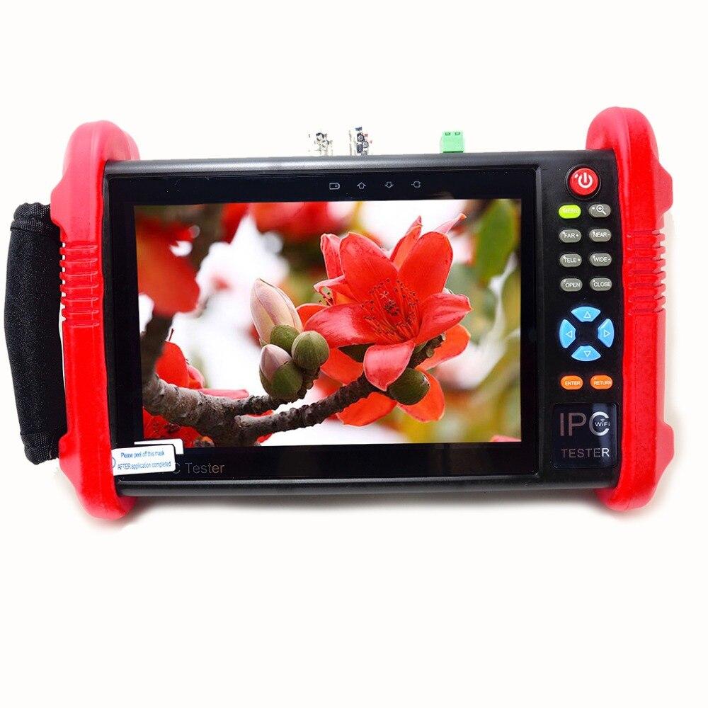 все цены на 7 Inch CCTV Cameras Test Monitor Camera Tester 12V output CCTV TVI CVI AHD SDI CVBS IP HD Camera Testing ONVIF IP Camera Test онлайн