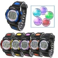 Boy Girl Alarm Date Digital Multifunction Sport LED Light Wrist Watch
