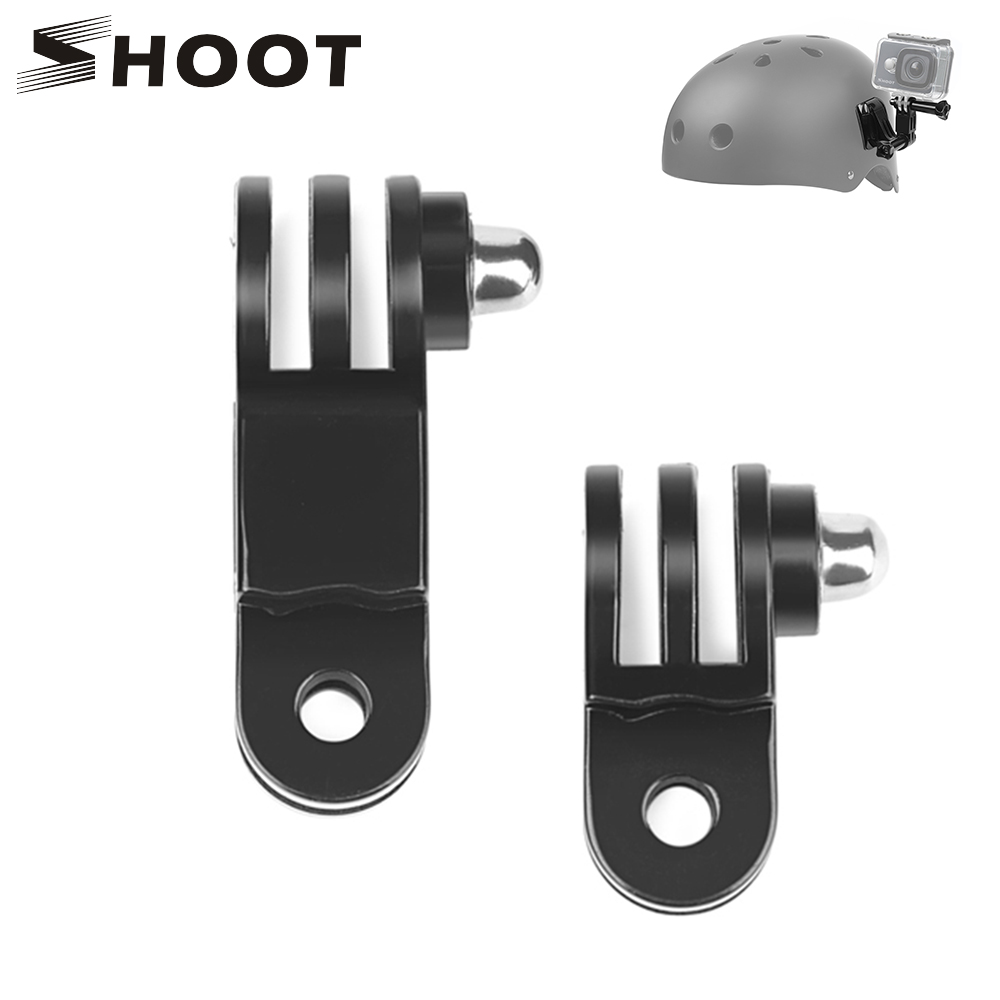 SHOOT Long & Short Adjust Arm Straight Joints Mount For Gopro Hero 8 7 6 5 Session SJCAM Xiaomi Yi 4K Eken H9 Go Pro Accessories