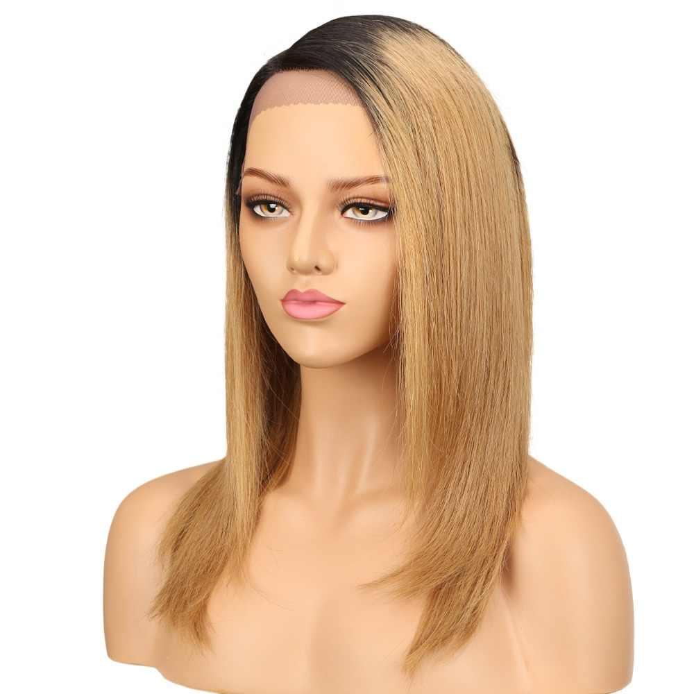 Гладкие парики из человеческих волос на сетке для черных женщин, бразильские прямые волосы Remy, парик блонд, коричневый, синий, 99J цветов, бесплатная доставка