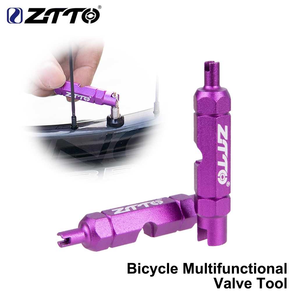 Bicycle Screwdriver Valve Core Wrench Alloy Presta Disassembly Removal Tool  TC
