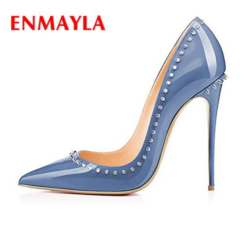 ENMAYLA  Pointed Toe  Casual  Slip-On  Women Shoes  Calzado Mujer  Super High Heels Women Pumps Size34-43 ZYL2112ENMAYLA  Pointed Toe  Casual  Slip-On  Women Shoes  Calzado Mujer  Super High Heels Women Pumps Size34-43 ZYL2112
