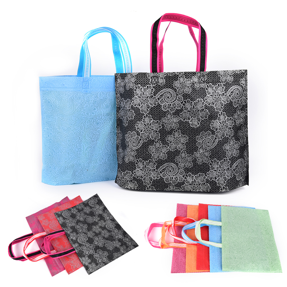 78af850ef1a 1PCS Wholesale Eco Shopping Bag Reusable Cloth Fabric Grocery Packing  Recyclable Hight Design Healthy Tote Handbag US 1.56   piece. 1PCS Random  Color ...