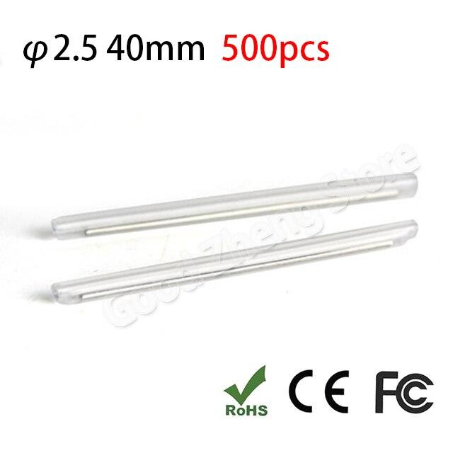 500pcs 40mm fiber optic fusion splice protection sleeve  heat shrink sleeve