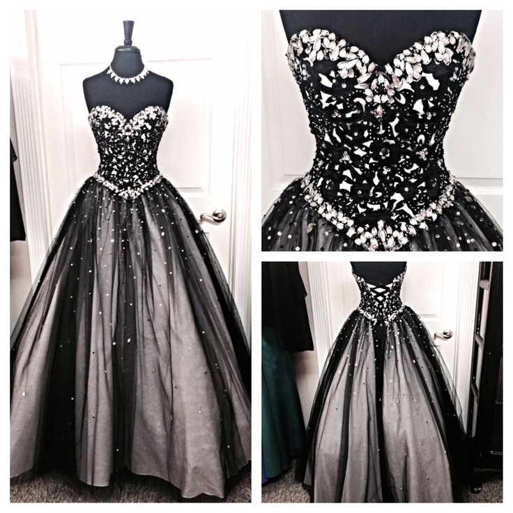Popular Black Sparkly Ball Gowns-Buy Cheap Black Sparkly Ball ...