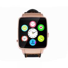 X6s gekrümmten leinwand bluetooth smart watch uhr smartwatch sport uhr armbanduhr für android-handy mit kamera unterstützung sim karte