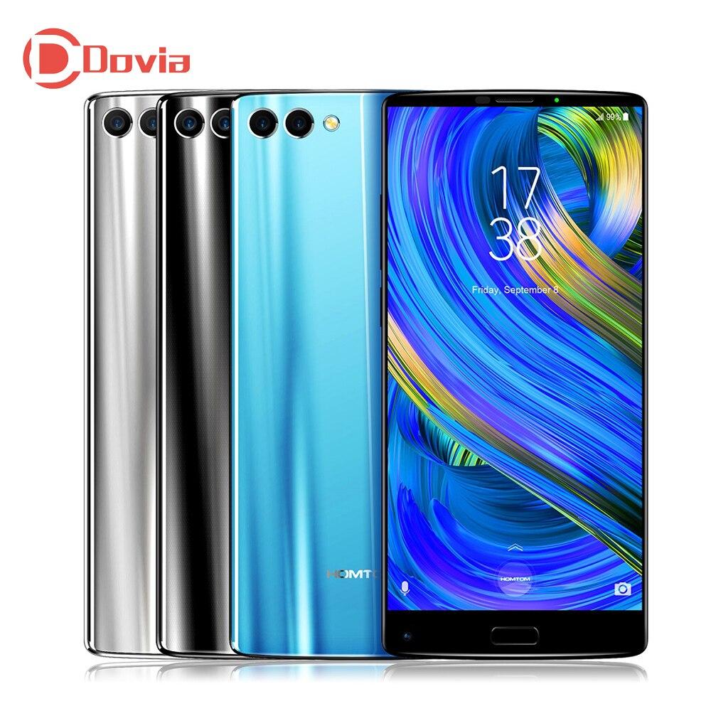 HOMTOM S9 Plus 4g Smartphone 5.99 pouce Android 7.0 MTK6750T Octa Core 4 gb RAM 64 gb ROM Soutien OTG D'empreintes Digitales Mobile Téléphone